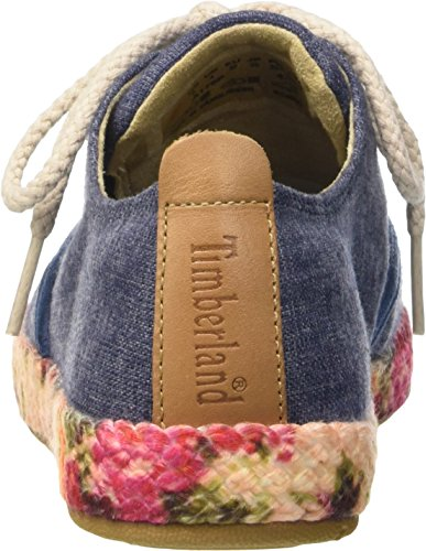 Blau Oxford Casco vintage Timberland Femme Bay Basses Fabric Indigo Bay Azul Sneakers casco XqwwdvA
