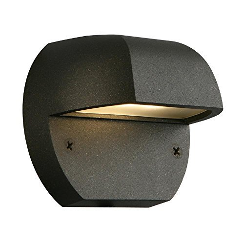 Cheap Hampton Bay Low-Volt Black Outdoor Integrated LED Surface Mount Light 1001488968