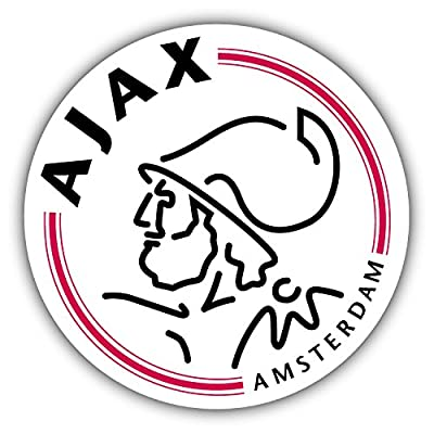 qualityprint Ajax Amsterdam Soccer Sport Football Decor Vinyl Sticker 12'' X 12''