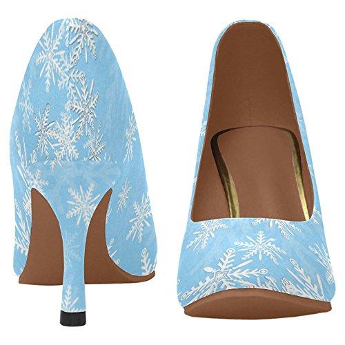 InterestPrint Womens Classic Fashion High Heel Dress Pump Shoes Multi 1 8Z81pY