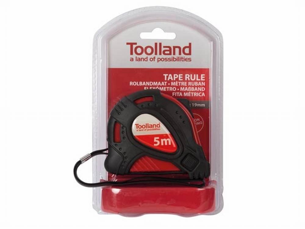 Toolland 06779 M/ètre ruban 5 m x 19 mm