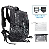 Yoga Mat Backpack-Sports Gym Bag Multi-purpose Backpack for Outdoor Sports, Gym,Pilate,Travel,Hiking,School with Shoes Compartment for Women&Men (Yoga mat is not included)