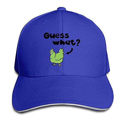 Creative Guess What Chicken Butt Fashion Design Unisex Cotton Sandwich Peaked Cap Adjustable Baseball Caps Hats - Sale Guess Australia