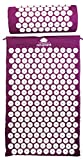 Acupressure Mat & Pillow Set by Acupoint - Back & Neck Muscle Acupuncture