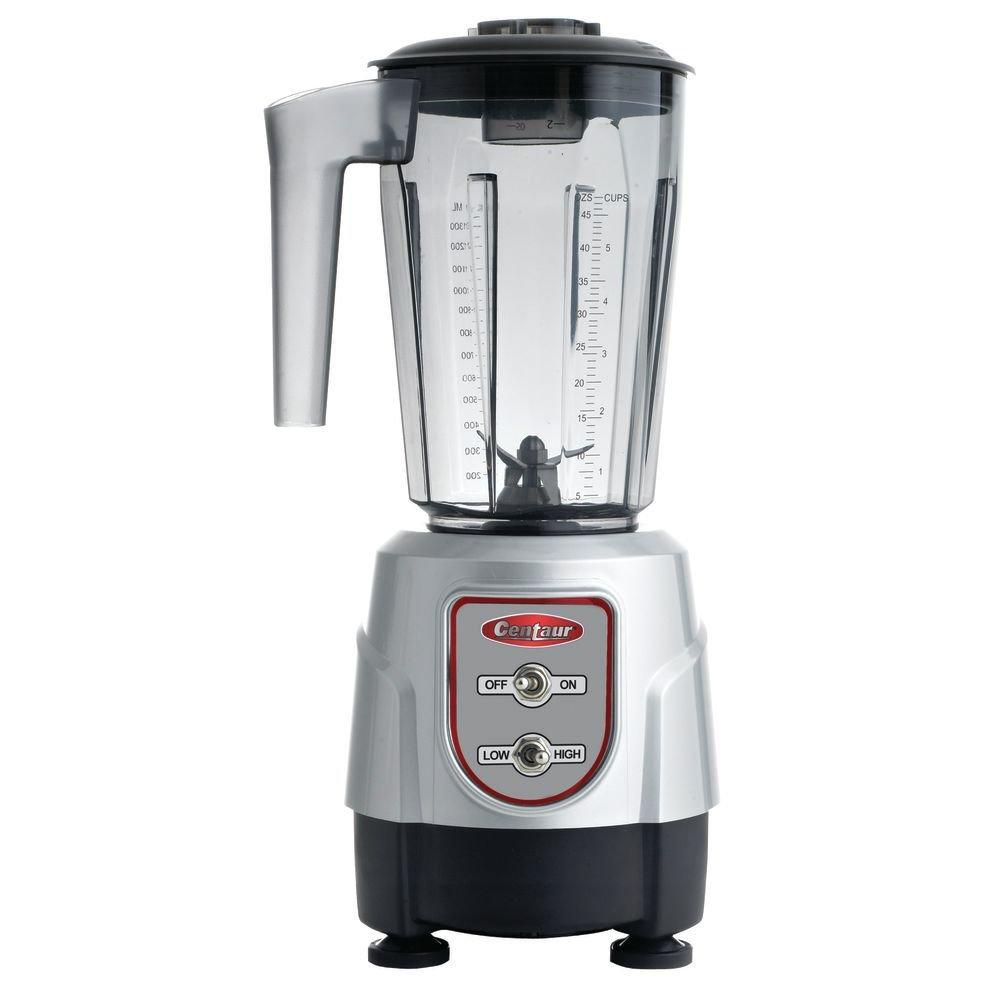 Centaur 48 oz 3/4 HP 2 Speed Drink Blender With BPA Free Tritan Container - 6 1/4''L x 8 1/4''W x 15 3/4''H
