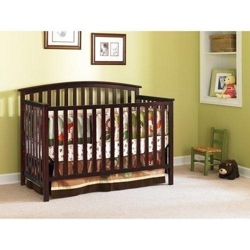 Amazon Graco Freeport Convertible Crib Classic Cherry Baby