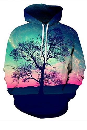 Embroidered Big Cotton Hoody Sweatshirt - 7