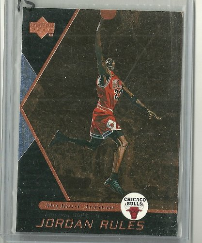 1998 99 Upper Deck Basketball Michael Jordan QuotJordan Rulesquot Insert Card