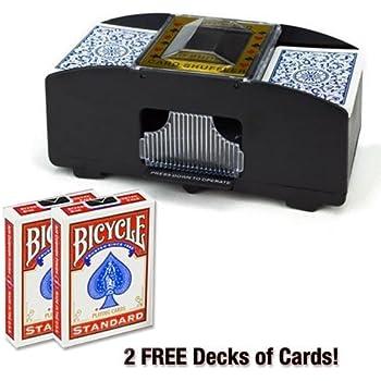 Amazon.com: Automático Card Shuffler – 4 cubierta Capacidad ...
