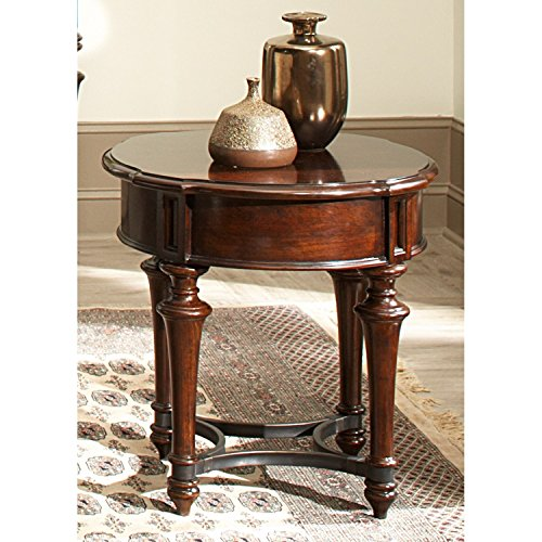 Liberty Kingston Plantation Cognac Round End Table Liberty Furniture Cherry End Table