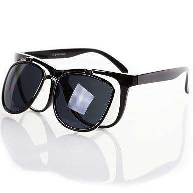 OLIVIA TENDANCES - Lunettes de soleil - VIPER 1961 UV400 - Double paroi de verres transparents/teintés - pvc e4tQJEz