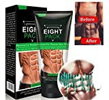Men Slimming Cream Fat Burning Muscle Belly Stomach Weight Loss Tighten Muscles by Rubyshop