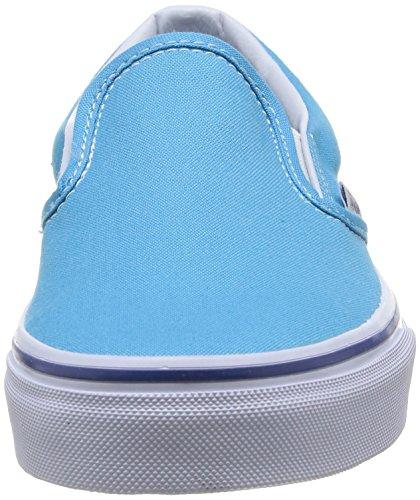 Vans U Classic - Zapatillas de Deporte de canvas Unisex - Turquoise (Cyan Blue/True White)
