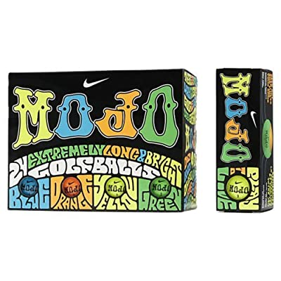 Nike Mojo Golf Balls 2 Dozen Assorted Color