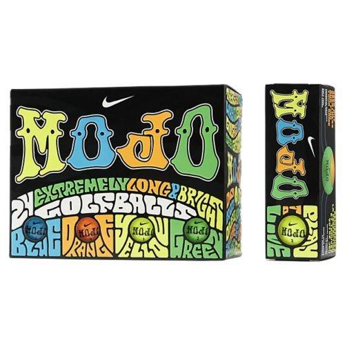 Nike Mojo Golf Balls 2 Dozen Assorted Color ()