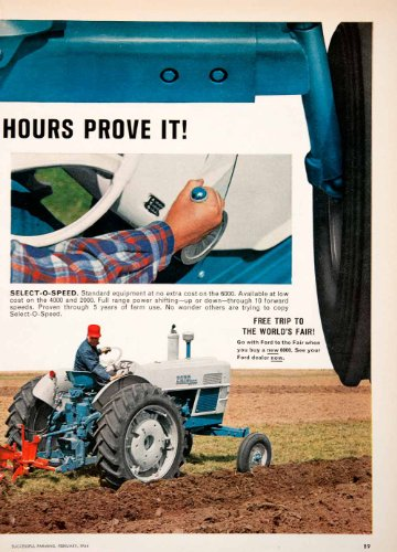 The 8 best ford agriculture advertising