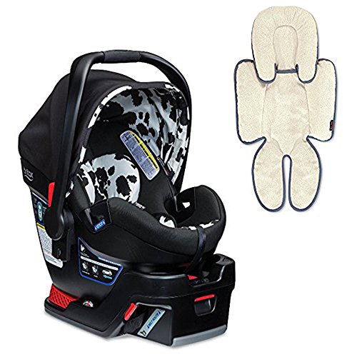 Britax B-Safe 35 Elite Infant Car Seat & Support Pillow, (Cowmooflage Safety Car Seat)