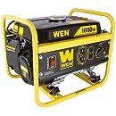 WEN 56180, 1500 Running Watts/1800 Starting Watts, Gas Powered Portable Generator, CARB Compliant