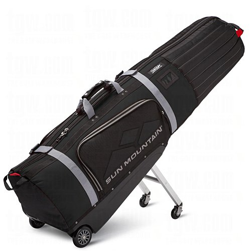 Sun Mountain Clubglider Meridian Travel Bag, Black