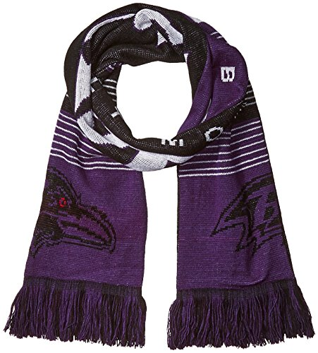 Baltimore Ravens Reversible Split Logo - Jersey Baltimore Ravens Scarf