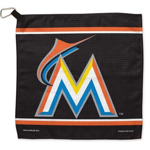 MLB Miami Marlins Waffle Toalla de Golf (13