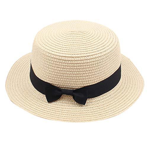 Foldable Cap for Women,Summer Hat for Women,Visor Hat,Small Top Hat for Doll Beige