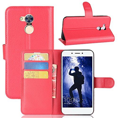 Manyip Funda Huawei Honor 6A,Caja del teléfono del cuero,Protector de Pantalla de Slim Case Estilo Billetera con Ranuras para Tarjetas, Soporte Plegable, Cierre Magnético(JFC6-13) D