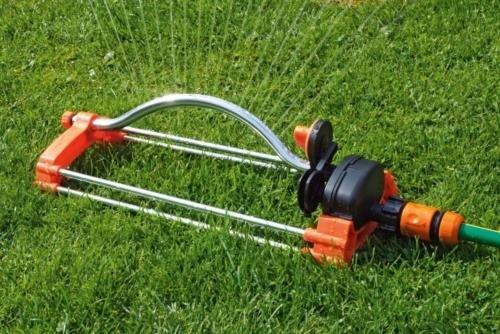 Oszillierende Rasensprenger Bewässerung Garten Flow mit Stecker