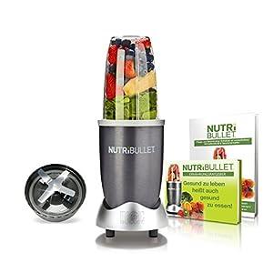 NutriBullet NB5G Nährstoff Extraktor Welcome-Set, 600 W, 20,000 Upm Smoothie...