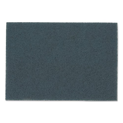 3M Blue Cleaner Pads 5300, 32'' x 14'', Blue, 10/Carton by 3M