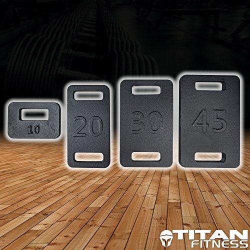 Titan 30 LB Ruck Weight, Ruck Plate from Titan Fitness