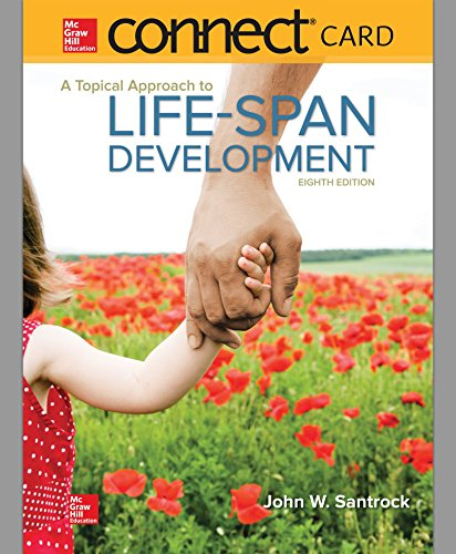 Connect Access Card for A Topical Approach to Lifespan Development -  John W Santrock, Teacher's Edition, Printed Access Code