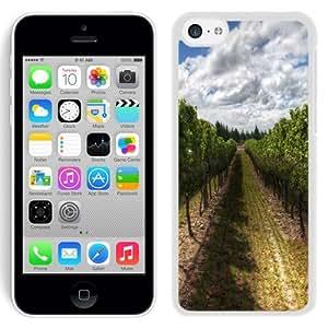 NEW Unique Custom Designed iPhone 5C Phone Case With Wines Of New Zealand_White Phone Case