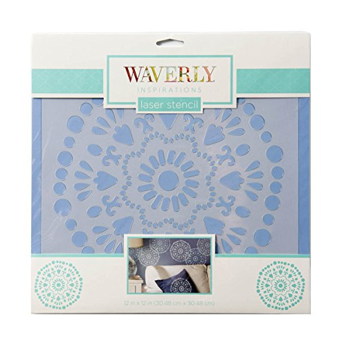 Waverly Inspirations 12x12 Big Wheel Laser stencil