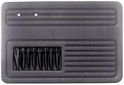 4 PIECE DOOR PANEL KIT, Fits Beetle 58-64, Black, Dunebuggy & VW