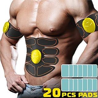 CHOICE REVOLUTION Abs Muscle Toner, Belt- Equipment Workout Abdominal Toner- Yellow