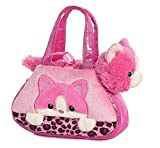 Peek A Boo Kitty Fancy Pals Purse with 8