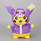 Pokemon Gengar Pikachu soft Plush Stuffed Animals Doll Kids Toys 28cm