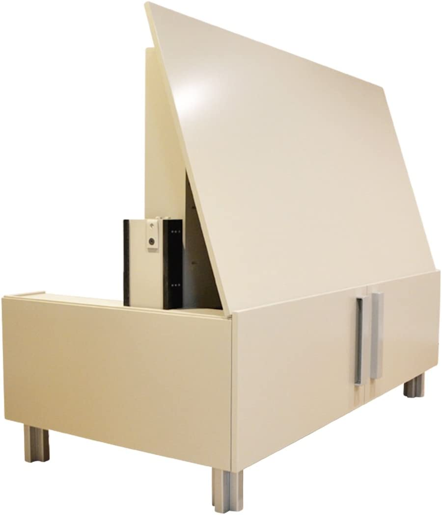 Pop Up TV Lift – Mueble Elevador de TV Hecho a Mano – ATL Sistema de Perfil bajo (60