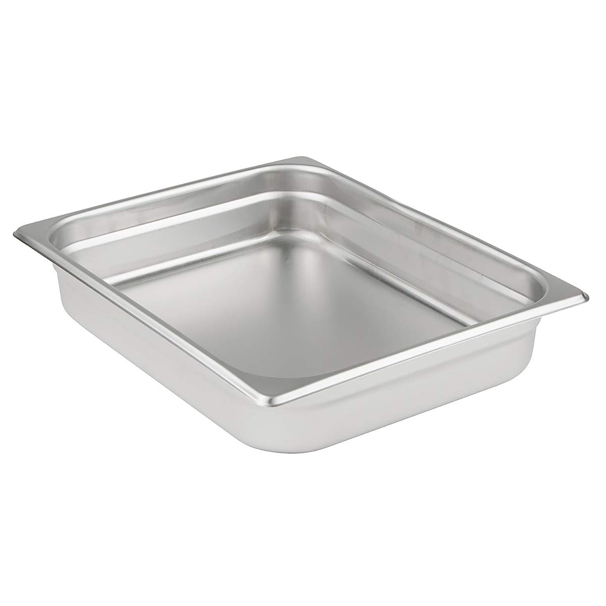 Update International NJP-506 6-Inch Half-Size Anti-Jam Steam Table Pan, Silver 3036