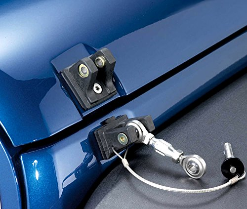 ICARS 2007-2018 Jeep Wrangler JK JKU Hood Latches Hood Lock Hood Catch Without Key, Retro Style, Stainless Steel, Black - Pair by ICARS (Image #6)