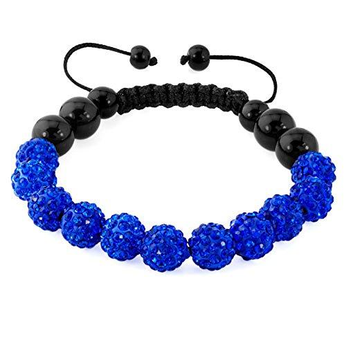 CharmSStory Shamballa Bracelet Inspired Adjustable