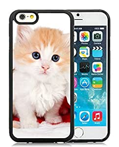 Best Buy iPhone 6 Case,Christmas Cat Black iPhone 6 4.7 Inch TPU Case 20