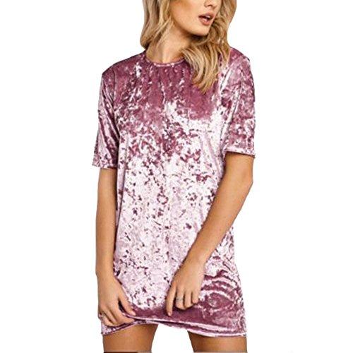 Silk Velvet Party Dress - 5