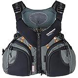 Stohlquist Keeper Lifejacket-Gray-M