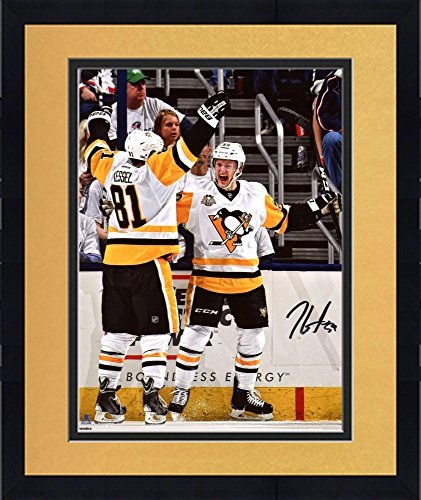 Framed Jake Guentzel Pittsburgh Penguins Autographed 8