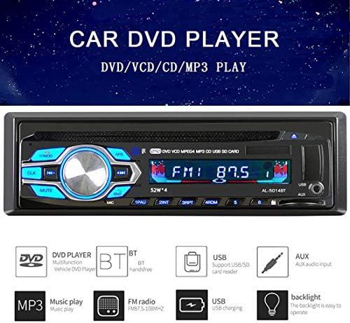 Holdream Bluetooth 4.2 TF USB Schnellladung 1 Din 4,1 Zoll ISO Remote Multicolor Lighting Autoradio Audio Video MP5 Player Autoteile
