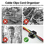 Cable Clips, Cord Organizer, Cable Organizer Cord