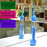 Pevor Portable Design For Travel Oral Irrigator Water Flossers Tooth SPA For Teeth Cleaning and Whitening