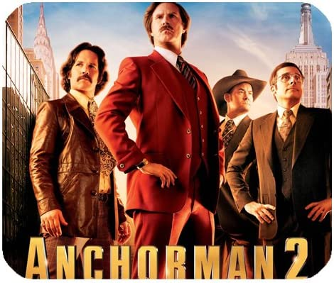 Anchorman The Legend Of Ron Burgundy Mousepad Personalized ...